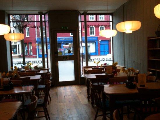 Quarry Cafe: Inside