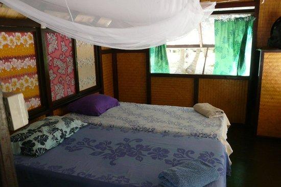 Relais Marama: interieur bungalow