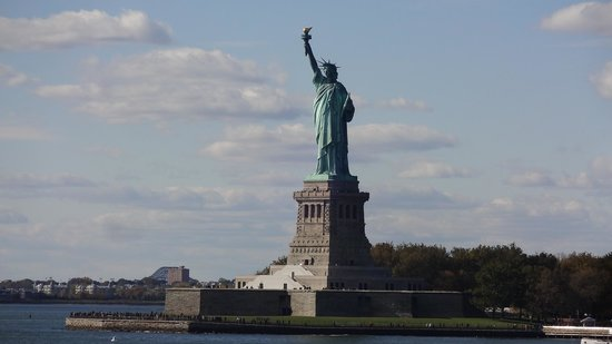 The Ritz-Carlton New York, Battery Park : 部屋から見える自由の女神