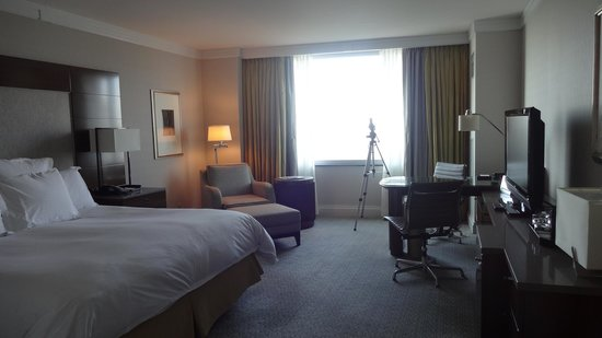 The Ritz-Carlton New York, Battery Park: 双眼鏡が設置されている