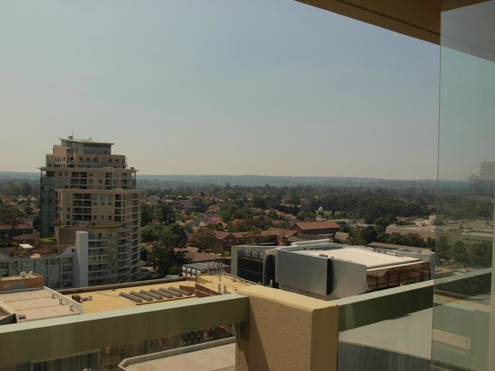The Sebel Residence Chatswood : A view from the balcony of room 1409