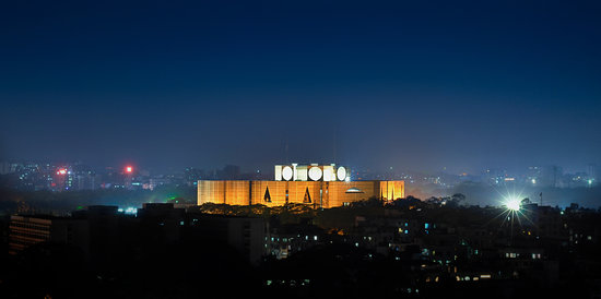 Bangladés: Bangladesh Paliament Building - the Greatest Architectural Marvel