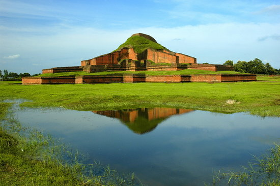 Paharpur Buddhist Monastery of Bangladesh -the World Heritage Site