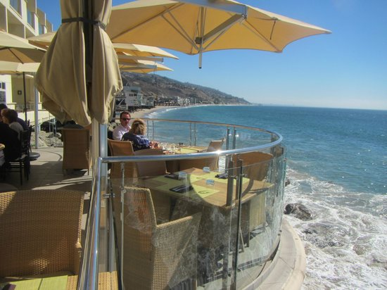 Malibu Beach Inn: The balcony