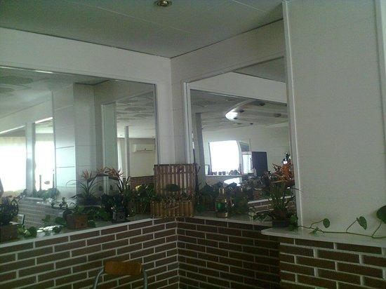 Hotel Mino: гостинная