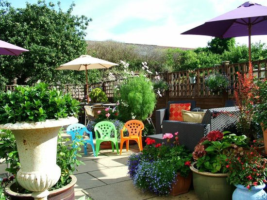 Apple Tree Tea Rooms: Stylish seating for the younger visitors (and VERY popular)