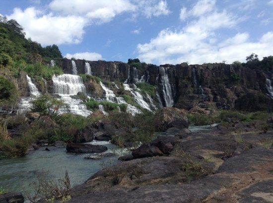 Pongour Falls: Boungor waterfall