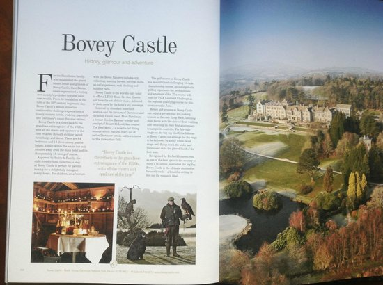 Bovey Castle Hotel: Page of a UK Finest Guide