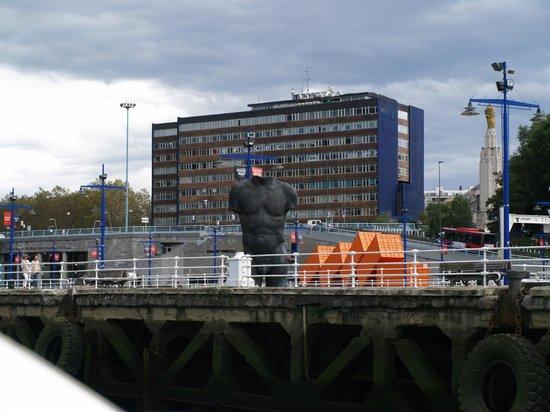 Museo Marítimo Ría de Bilbao: Flussfahrt 1