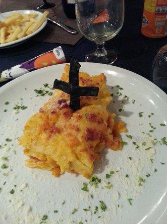 Pizzeria i Velici: Tomba di lasagne per Halloween!!!