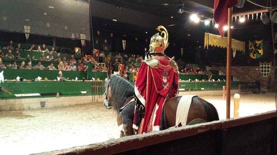 Cena-Espectáculo 'Desafío Medieval': La arena