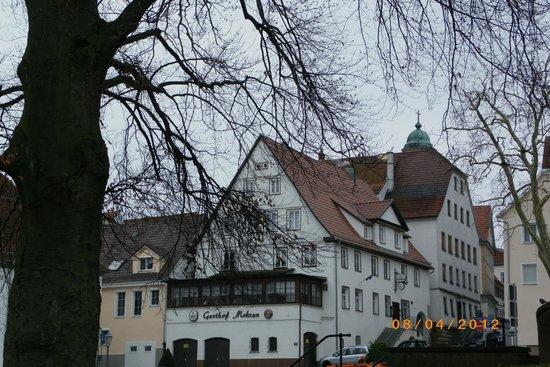 """Hotel-Gasthof Mohren: façade du """"Mohren"""""""
