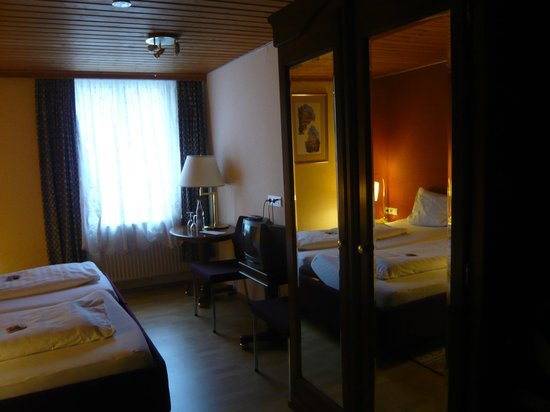 Hotel-Gasthof Mohren: notre chambre