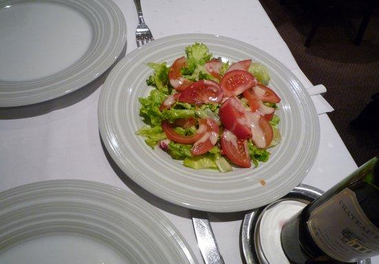Le Pre Sale: サラダは2人で分けました