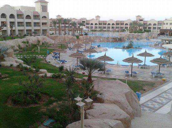 Tirana Aqua Park Resort: view from the room