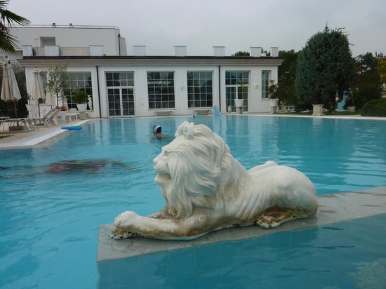 Bellavista Terme Resort & Spa : Heerlijk warm water