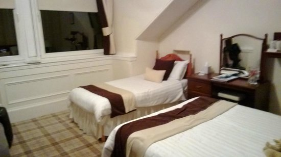 Gowanlea Guest House : Stanza molto bella e spaziosa