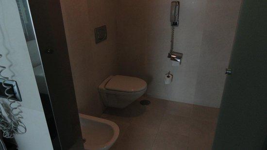 Andalucia Center Hotel: toilettes séparée