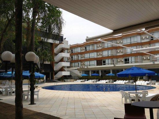 Rafain Palace Hotel & Convention: área da piscina