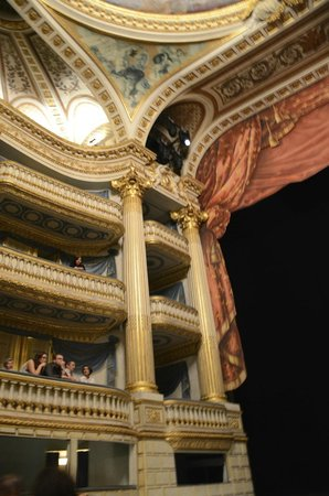 Grand Théâtre : interior of the opera house