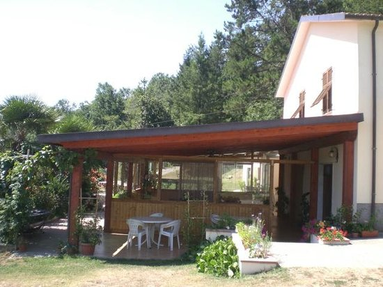 Agriturismo Casalina : Veranda del ristorante