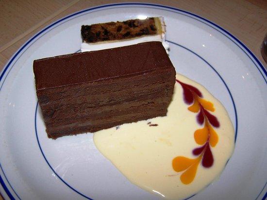 The Rose Garden Café: Private function - Moorish chocolate dessert