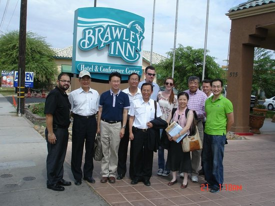 Brawley Inn Hotel & Conference Center : An exploring tour for sustianble energy.