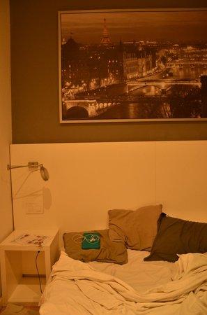 Hostalet Barcelona: chambre