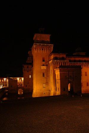 Castello Estense from Hotel Annunziata
