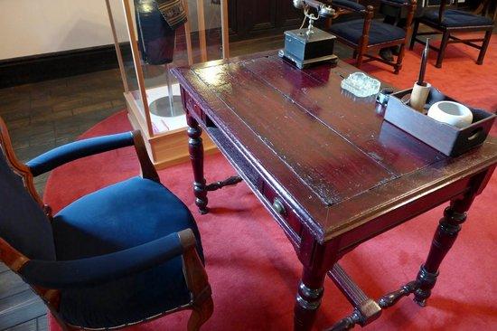 Old Minami Aidu-gun Government Office : 郡長の机