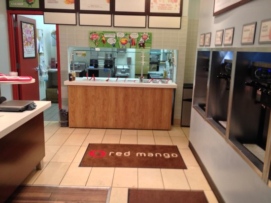 Red Mango: Store Interior since Self-Serve remodel.