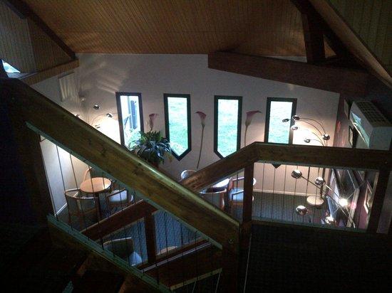 Ibis Provins : vue du 1er étage