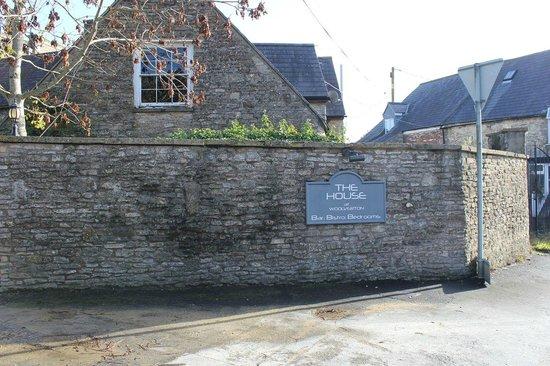 The House near Bath: Road Sign