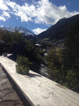 Hotel Miramonte : Ausblick Terrasse