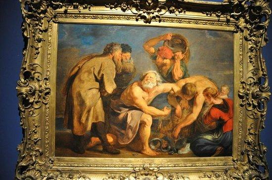 """Palais de Rohan: Jacob Jordaens """"La Pêche Miraculeuse"""" 1620"""