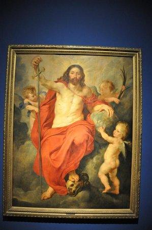 """Palais de Rohan: Peter Paul Rubens """"Le Christ Triomphant de la Mort et du Pêché"""" 1615"""