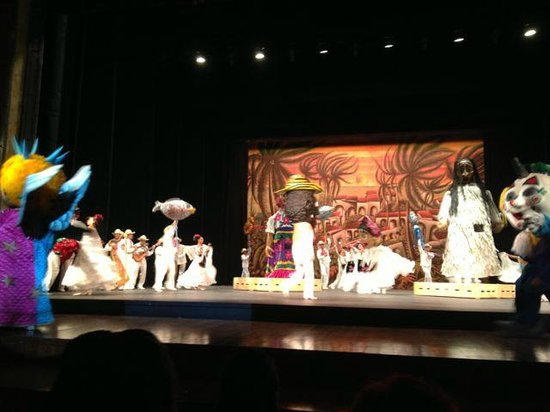 Ballet Folklorico de Mexico: Typical dance from Mexican regions