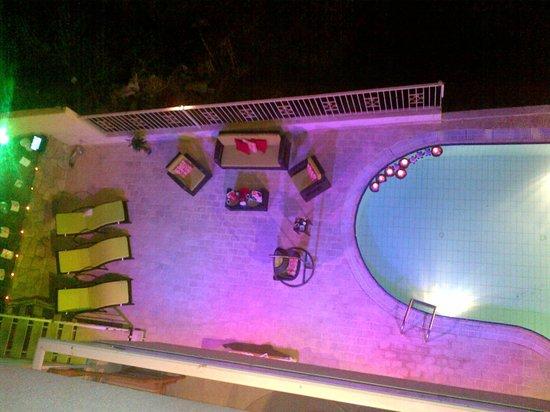 Residence de France: Pool Terrace