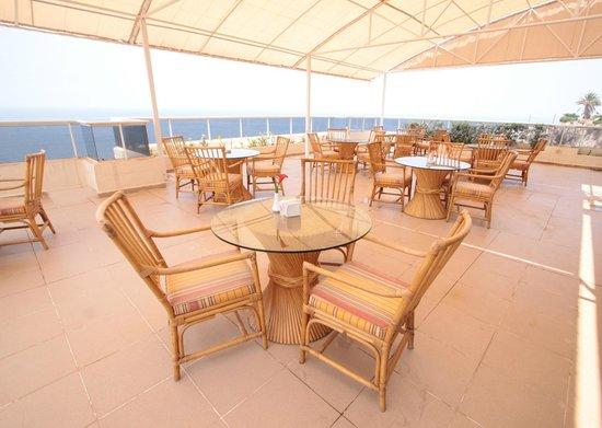 Residence de France: Outdoor Rooftop Terrace