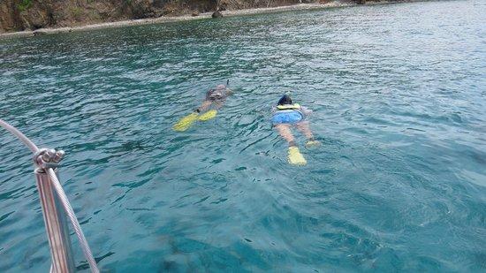 Wayward Sailor: Captain Phil and Me snorkeling