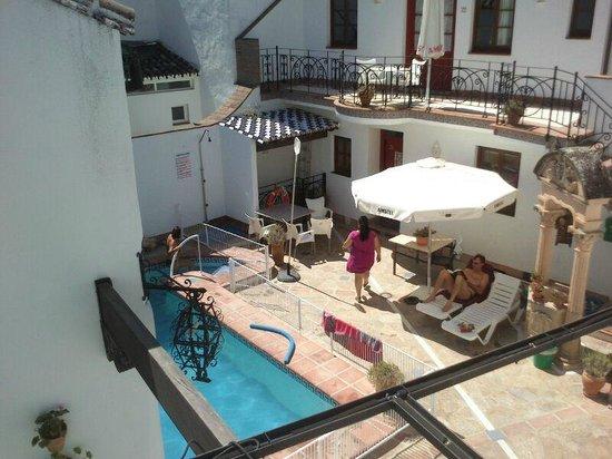 Hotel La Ciudad: Esta es la vista desde una de las habitaciones que teníamos.