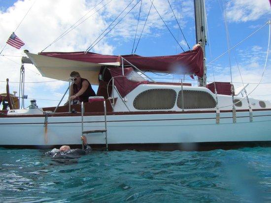 St. John: Wayward Sailor Sailboat