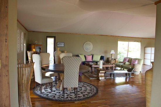 Sayari Camp, Asilia Africa: Main Lodge Area