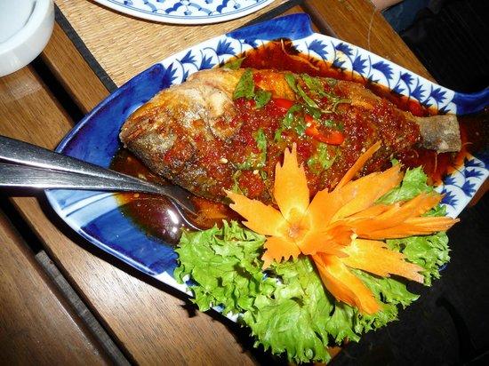 Mao Thai: Perfekt tillavet fisk
