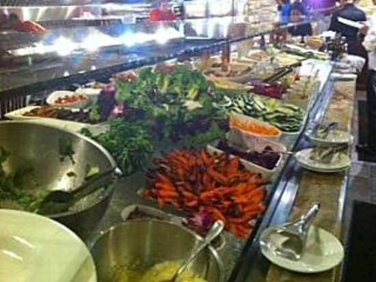 Brazilian Grill: Amazing, varied selection of food