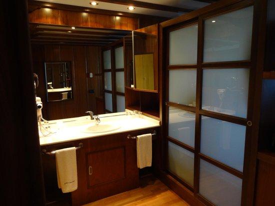 Hotel Dona Brigida: parte del baño
