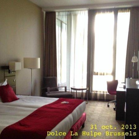 Dolce la Hulpe Brussels: chambre de luxe