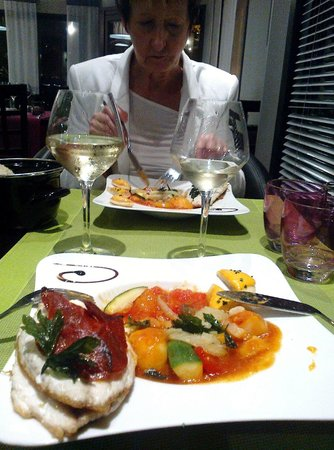 Hotel La Cuis'in: Vue d'un plat
