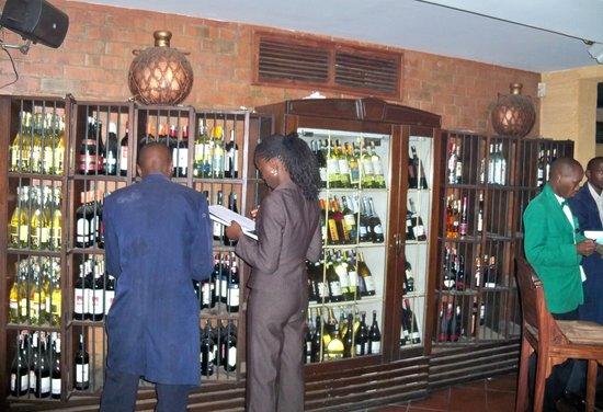 Trattoria Ristorante & Pizzeria: Nice Wine Selection