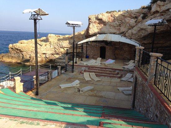 Club Resort Atlantis: crique sympa